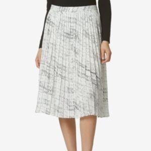 Avec Les Filles Pleated Skirt